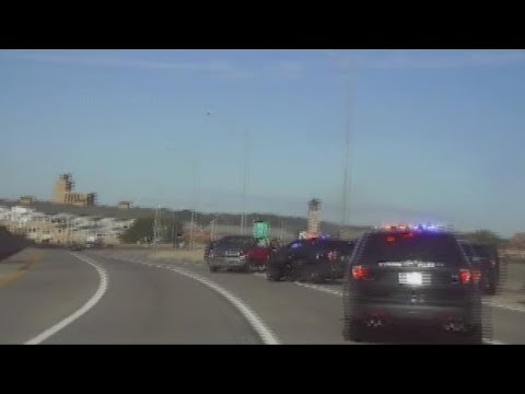 Grand Rapids Police cruiser hits suspect on US 131