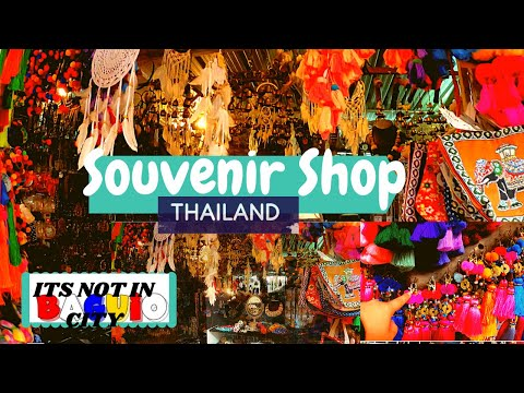 BAGUIO CITY SOUVENIR SHOP IN PHRAE THAILAND