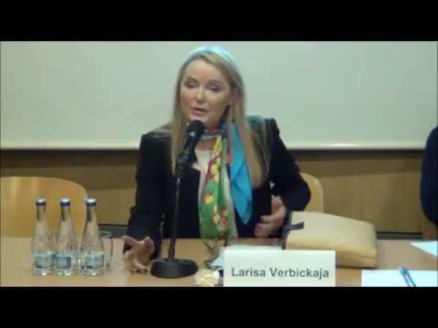 Лариса Вербицкая в гостях у Вильнюса