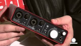 focusrite scarlett 2i2 m audio fast track usb mkii prezentare comparativa