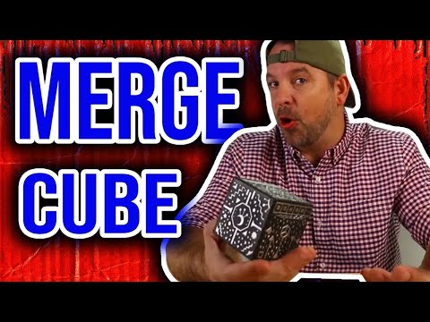 Introducing the Merge Cube! An Augmented  Reality & Virtual Reality Holo Cube.