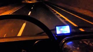 UNIMOG 426 4x4 CHILE  de noche con Pantalla retrovisor