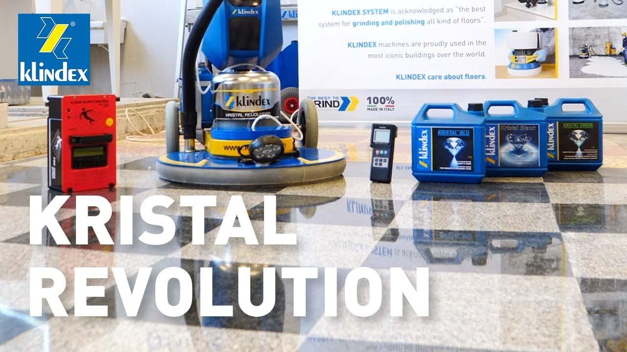 Granite Floor Polishing Kristal Revolution 4hp Polisher