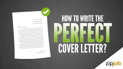 How To Write A Cover Letter (Example Included)