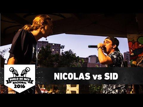 Nicolas (RS) vs Sid (DF) (Semifinal) - Duelo de MCS Nacional 2016 - 20/11/16