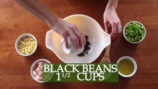 Black Bean Shrimp Salad - Zesty Recipes