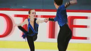 Юлия Артемьева и Михаил Назарычев выиграли золото соревнований спортивных пар!
