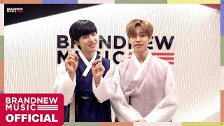 MXM (BRANDNEWBOYS) - 행복한 한가위 보내세요🙇🏻‍♂💜(Korea's Thanksgiving day 2018)
