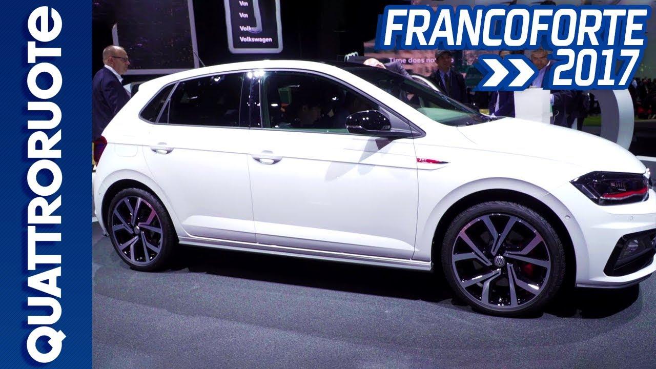 Volkswagen Polo Gti La Nuova Generazione Al Salone Di