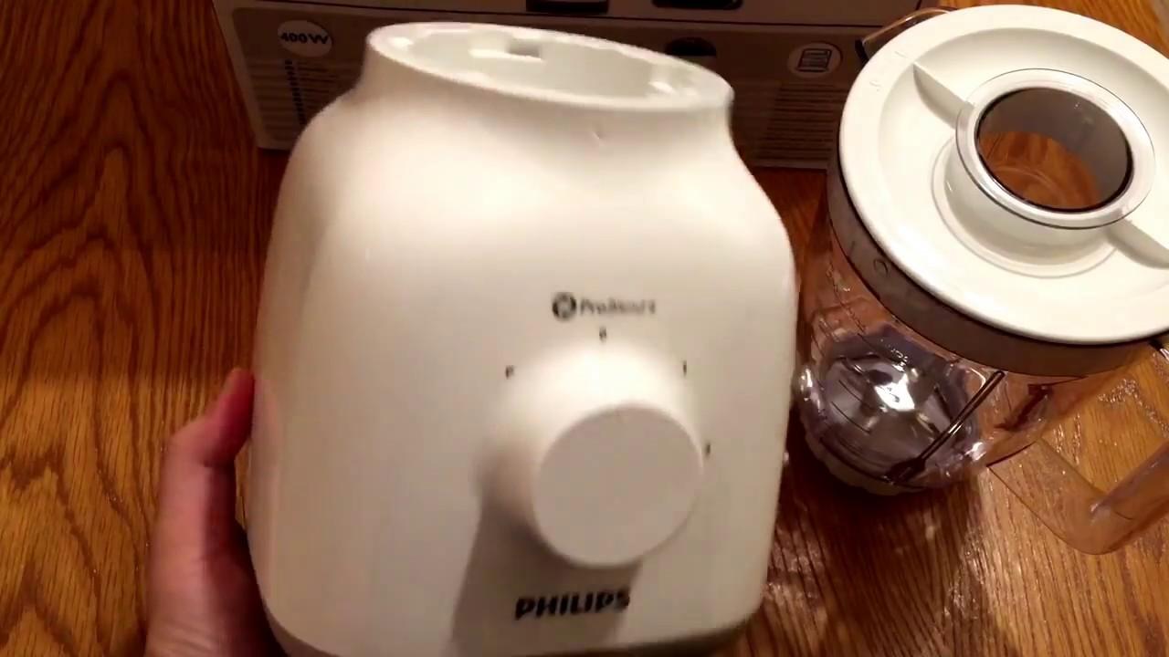 Philips Pro Blend 4 Unboxing Romana Youtube