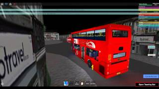 Roblox London & East ALPHA VERSION ALX400 (Trident) Tower Transit Route N8 Stratford a Wanstead