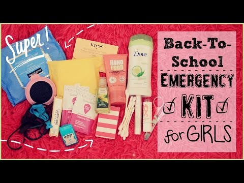 Back To School Emergency Kit For Girls♡