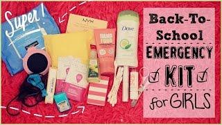 Back To School Emergency Kit For Girls♡