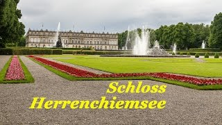 Schloss Herrenchiemsee. Дворец Херренкимзее.  Германия.(Schloss Herrenchiemsee. Дворец Херренкимзее. Германия. Дворец Херренкимзее (Schloss Herrenchiemsee) -это дворец, связанный..., 2016-07-02T07:25:34.000Z)