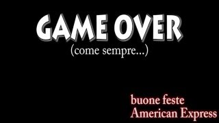 AMERICAN EXPRESS - GAME OVER (Oscar del Cinema Abatese)