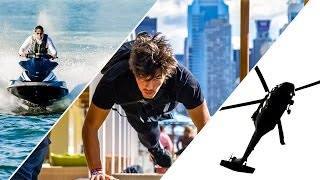 Parkour vs Helicopter vs Jet Ski - Race Through NYC!