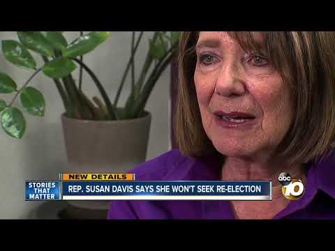 Rep. Susan Davis says she will not run in 2020