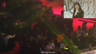 170119 EXO MAMAMOO IOI WJSN reaction to GFRIEND's Rough & Navillera Stage at SMA 2017