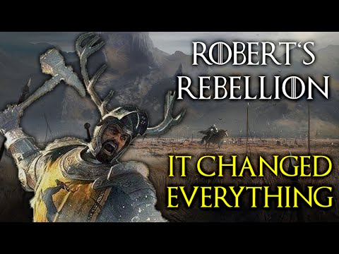 Robert's Rebellion | The War That Changed Westeros (Game of Thrones)