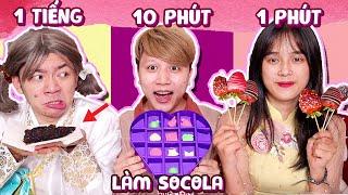 Socola 1 Phút Vs 10 Phút Vs 1 Tiếng - Đám Cưới Của Xanh Lanh Chanh ...
