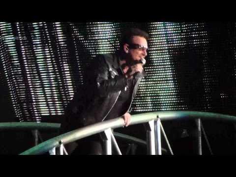 U2 I'll Go Crazy If I Don't Go Crazy Tonight Remix, La Plata 2011-04-03