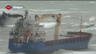 Crew missing after cargo ship sinks in Black Sea