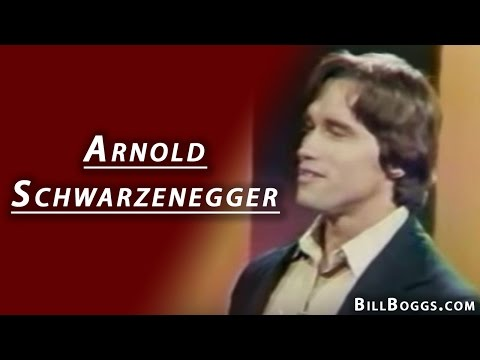 Arnold Schwarzenegger Interview with Bill Boggs