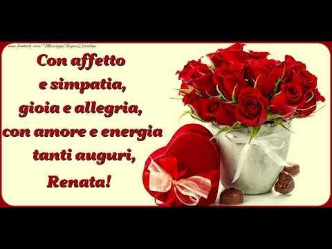Buon Compleanno Renata Youtube