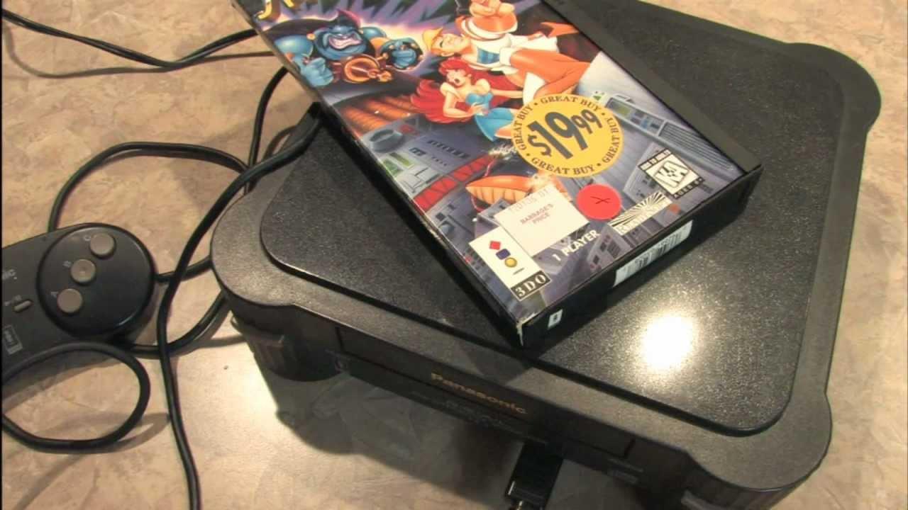 Classic Game Room - PANASONIC 3DO console review model FZ ...