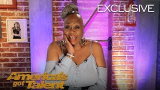 Ms. Trysh Recalls Getting Close With Simon Cowell - America's Got Talent 2018