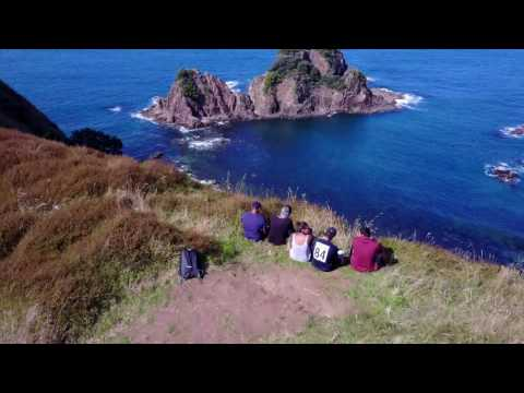 Coromandel - Opito bay, New Zealand DJI Mavic Pro 4k