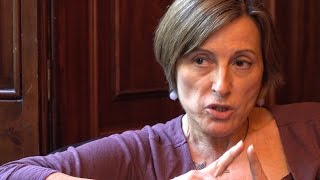Entrevista a Carme Forcadell, presidenta del Parlament (CAT)