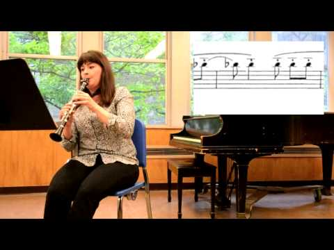 A Compositional Tutorial - The E-flat Clarinet