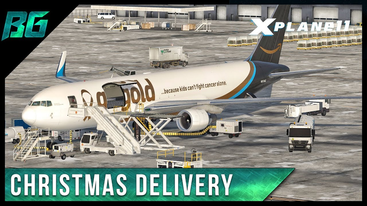 Christmas Delivery | X-Plane 11