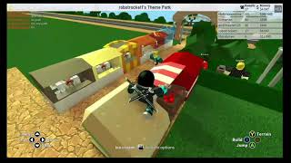 Roblox Theme park tycoon 2 (Season 1 Ep 1) - My first video