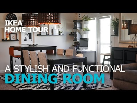 Dining Room Ideas - IKEA Home Tour (Episode 304)