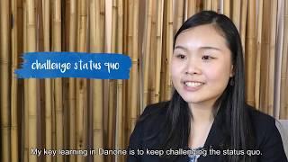 Internship at Danone in Singapore