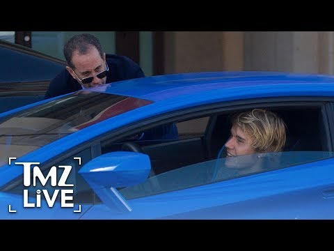 Jerry Seinfeld Meets Justin Bieber!  TMZ Live