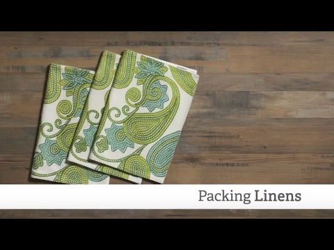 Packing Linens