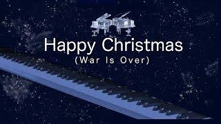 使用楽譜:美しく響くピアノソロ クリスマス(YAMAHA) ハッピー・クリス...