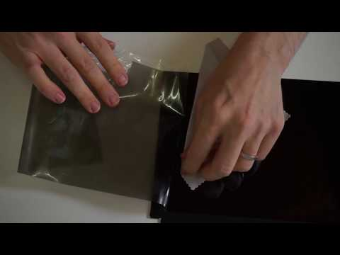 Removing the polarizer from an LCD screen