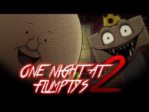 Прохождение ► One Night at Flumptys 2 (No commentary) - МИЛЫЕ,НО СТРАШНЫЕ!