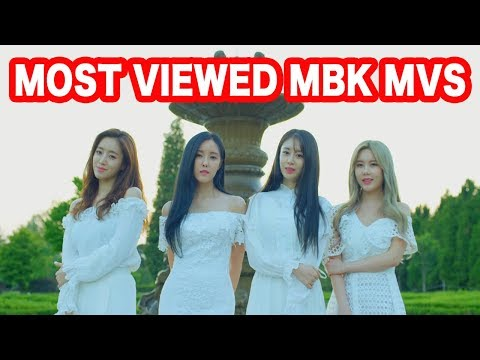 [TOP 25] MOST VIEWED MVS FROM MBK ENT.