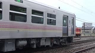 GV-E400系 体験乗車 酒田発車