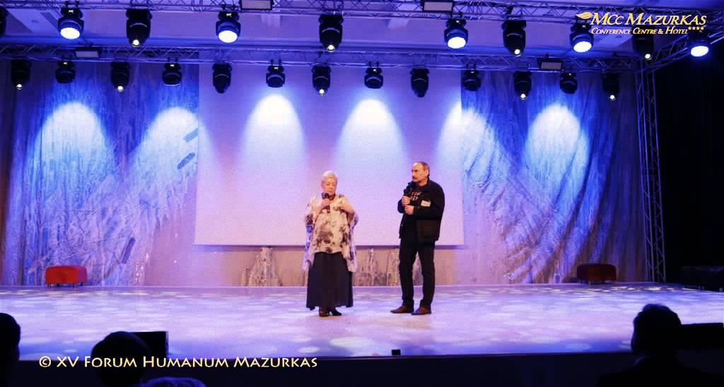 XV Forum Humanum Mazurkas- Andrzej Bartkowski,Janina Tuora i Krzysztof Koniczek prezentacja-film
