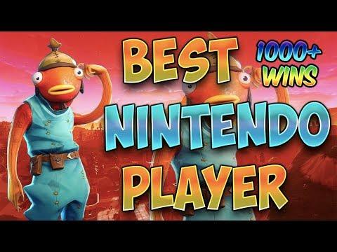 Fortnite Best Nintendo Switch Player 1000 WINS WINTER BREAK thumbnail