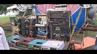 মুন্না সাউন্ড 🆚 সৌম্যজিত সাউন্ড //Munna sound vs Soumojit sound competition //Binod Bag