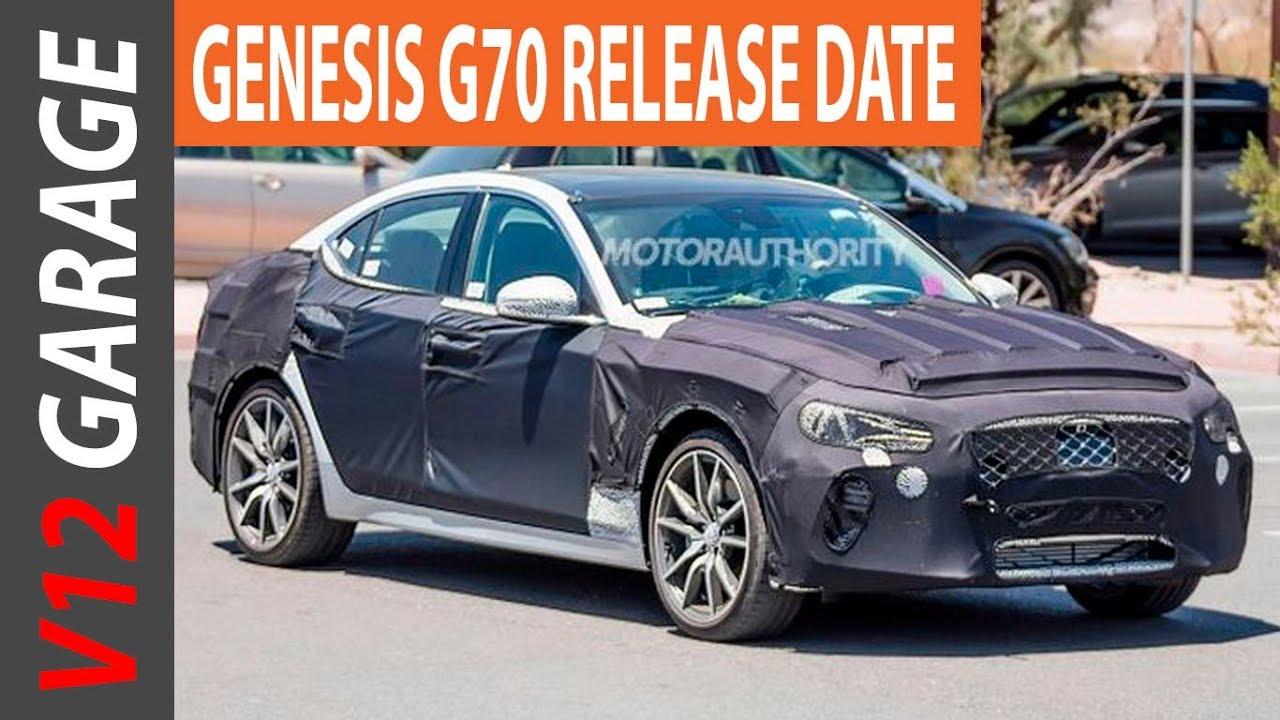 2018 Genesis G70 Sedan Interior Price and Release Date  YouTube