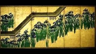 第一場「八つ橋にて」 かきつばたの精:青山恵子、諸国行脚の僧:杢子淳...