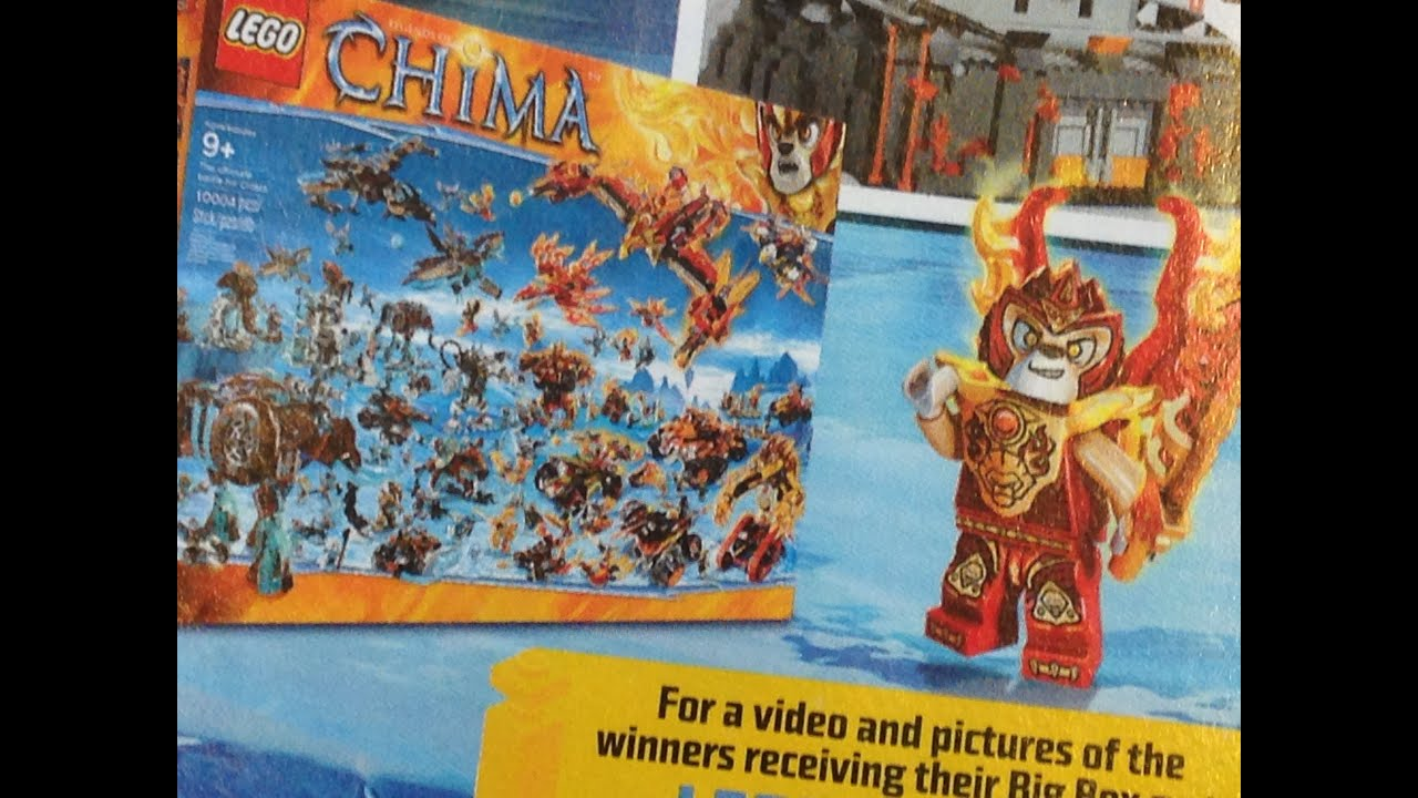 NEW Lego Chima Big Box Set Winners! - YouTube